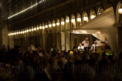 Orchestra of San Marco by night