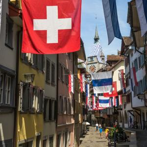 Switzerland National Day in Zug