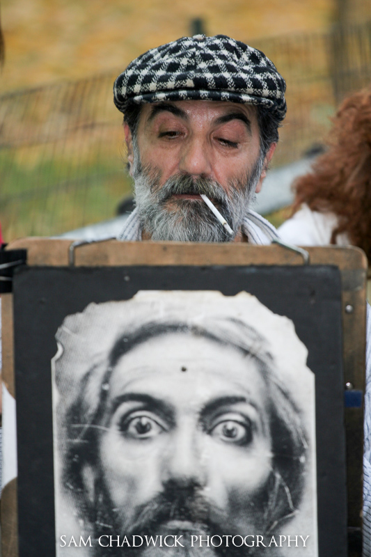 Central Park Artist
