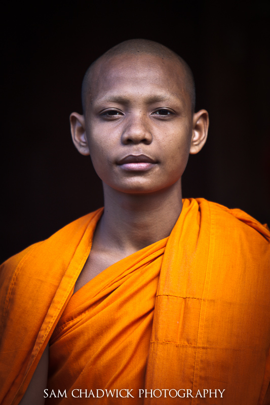 Monk Portrait