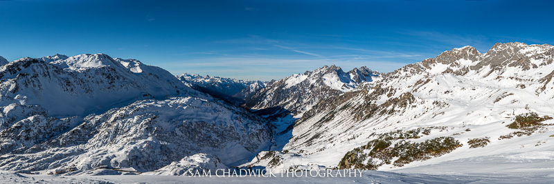 View from St Anton