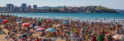 Beach day in Gijon